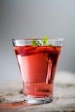 De drank van de aardbei Stock Foto's