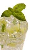 De drank van de citroen op ijs Royalty-vrije Stock Afbeelding