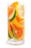 De drank van de citrusvrucht Stock Foto's
