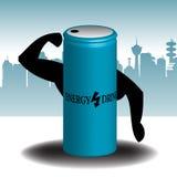 De drank van de energie stock illustratie