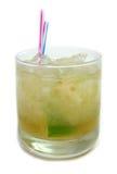 De drank van de kalk of van de citroen Stock Foto