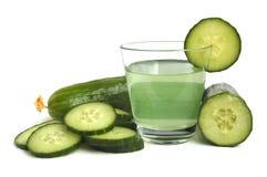 De drank van de komkommer stock afbeelding