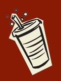 De drank van de soda Stock Fotografie