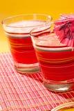 De drank van de watermeloen Royalty-vrije Stock Afbeeldingen