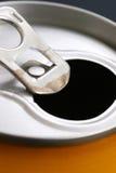 De drank van het aluminium kan Stock Foto's