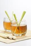 De drank van het citroengras Royalty-vrije Stock Afbeeldingen