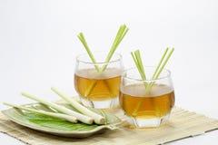 De drank van het citroengras Stock Fotografie