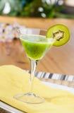 De Drank van het Fruit van de kiwi Royalty-vrije Stock Afbeeldingen