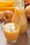 De drank van het perziksap Royalty-vrije Stock Afbeelding