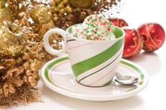 De Drank van Kerstmis Stock Afbeeldingen