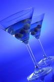 De drank van martini stock foto's