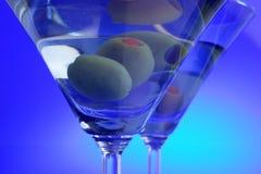 De drank van martini stock afbeeldingen