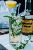 De drank van Mojito Stock Afbeeldingen