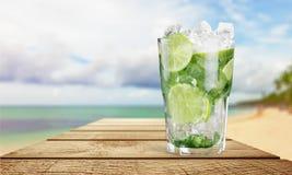 De drank van Mojito royalty-vrije stock fotografie