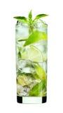 De drank van Mojito van de munt Royalty-vrije Stock Afbeeldingen