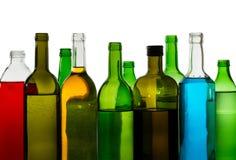 De dranken van de alcohol Stock Afbeeldingen