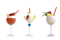 De dranken van de alcohol stock foto's