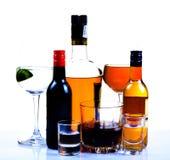 De dranken van de partij royalty-vrije stock afbeeldingen