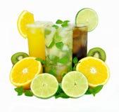 De dranken van de zomer Stock Afbeelding