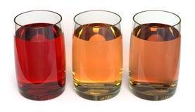 De dranken van het sap/van de Geschiktheid Royalty-vrije Stock Fotografie