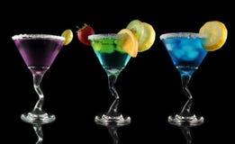 De dranken van martini royalty-vrije stock foto's