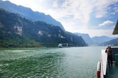 De Drie Kloven van de Yangtze-Rivier stock foto's