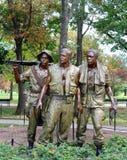 De Drie Militairen Stock Afbeeldingen