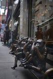 De drie wijze apen Royalty-vrije Stock Fotografie