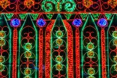 De driedimensionele lichte tentoonstelling voor Stadhuis Stock Fotografie