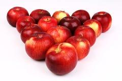 De driehoek van de appel Royalty-vrije Stock Afbeeldingen