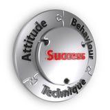 De driehoek van het Succes royalty-vrije stock foto's