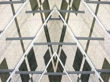 De Driehoek van hoeken Royalty-vrije Stock Afbeeldingen