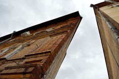 De driehoekige bouw Stock Fotografie