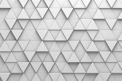 De driehoekige Muur van het Tegels 3D Patroon vector illustratie