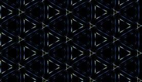 De driehoeks naadloos patroon van Grunge Royalty-vrije Stock Foto