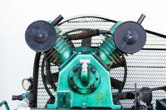 De drievoudige Compressoren van de Cilinder Vergeldende Lucht op Industrie Stock Fotografie