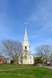 De Drievuldigheidskerk van Nieuwpoort, Rhode Island, de V.S. Stock Foto's