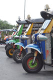 De Driewieler Thailand van Tuk van Tuk Royalty-vrije Stock Fotografie
