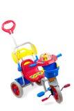 De Driewieler van het kind Stock Foto's