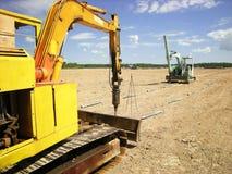 De Drijfmachine van de schroefstapel Stock Foto