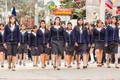 De Droevige Gezichten van middelbare schoolmeisjes Royalty-vrije Stock Fotografie
