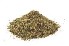 De droge bladeren van de yerbapartner, traditionele drank van Argent Stock Foto's