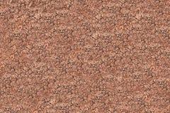 De droge bruine rotsachtige achtergrond van de textuuraarde Stock Afbeelding