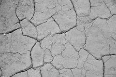 De droge gebarsten achtergrond van de de grondtextuur van de aardegrond Royalty-vrije Stock Fotografie