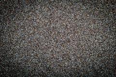 De droge grijze textuur van papaverzaden Stock Afbeeldingen