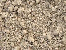 De droge grond van de klei Stock Afbeeldingen
