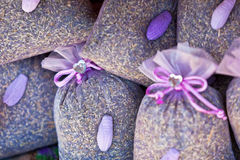 De droge mand van lavendelsachets Royalty-vrije Stock Afbeelding