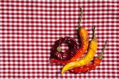 De droge Peper van de Spaanse peper Royalty-vrije Stock Foto