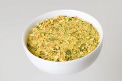 De droge specerij van groenten en van kruiden stock afbeelding