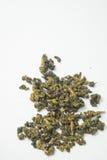 De droge thee isoleerde witte achtergrond Royalty-vrije Stock Fotografie